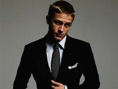 Charlie Hunnam...Jax from Sons of Anarchy...Yes please!