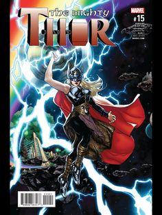 Marvel Comics Art, Marvel Comic Books, League Of Heroes, Female Thor, Online Comic Books, Midtown Comics, The Mighty Thor, Dark Elf, Marvel Women