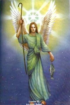 Vibrational Manifestation - Vibrational Healing by Archangel Rafael Bird Watcher Reveals Controversial Missing Link You NEED To Know To Manifest The Life You've Always Dreamed Angel Images, Angel Pictures, Images Gif, Angels Among Us, Angels And Demons, Catholic Archangels, Angel Hierarchy, Male Angels, Sainte Therese