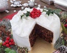 Gâteau de Noël anglais (Christmas cake)