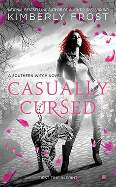 Cover Reveal: Casually Cursed (Southern Witch #5) by Kimberly Frost  -On sale February 3rd 2015 by Berkley -From the national bestselling author of Slightly Spellbound comes the latest Southern Witch novel featuring Tammy Jo Trask.  Tammy Jo rarely sets a toe outside Texas, but when she learns her mother is in trouble, Tammy is determined to save her—even if it means going to hell and back…
