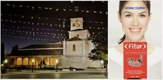 Adelina María Oancea  en FITUR 2014 presentando el proyecto de iluminación arquitectónica realizado en 10 municipios de la comunidad de madrid con el Gr.de Accionó local Alcarria de Alcala