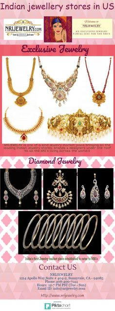 NRI Jewelry you can shop online for gold jewelry from reputed