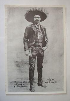 Gen E Zapata Pinup Poster Sexy Mexican Bandit Tight Pants Boots Gun Hat Belt Vtg | eBay