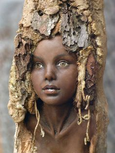 from Florilege: aout 2013 tree fairy garden sculpture