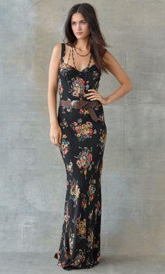 Floral-Print Silk Dress - RRL Short Dresses - RalphLauren.com