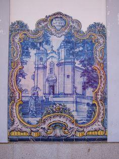 Painel de Azulejos: Egreja do S. Jesus da Piedade - Elvas