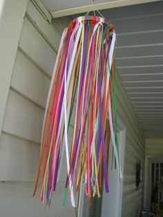 Windsock- awe gonna make some with my babe this spring