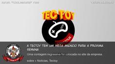 A Tectoy Tem Um Mega Anúncio Para A Próxima Semana - Uma contagem regressiva foi colocada no site da empresa. #Tectoy #MegaDrive