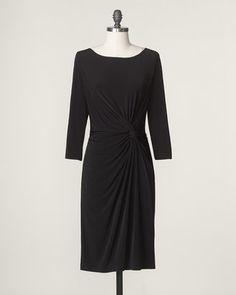 ShopStyle: Waist twist knit dress