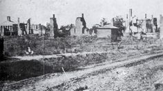 150 Years Ago, August 22, 1864: The Burning of Oxford, Mississippi This is war...my hometown