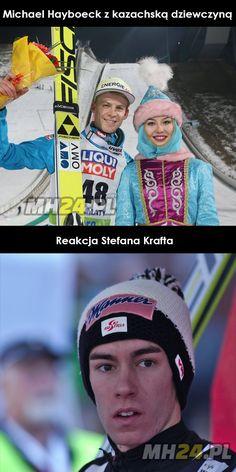 Reakcja Stefana Krafta na zdjęcie Michaela Hayboecka z kazachską dziewczyną