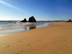 Beach in Alvor, Algarve/Portugal