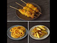 3 Farklı Patates Tarifi - YouTube