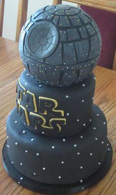 Coole Star Wars Todesstern Torte - Death Star Cake
