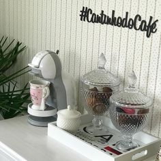 Coffee Bar Home, Coffee Corner, Nail Room, Beauty Room, Kitchen Organization, My Dream Home, Home Accessories, Decoration, Sweet Home