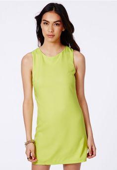 Sharna Tailored Shift Dress - Shift Dresses - Missguided