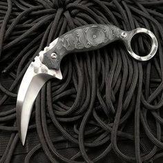Karambit Prototype Steel Edge Tactical Pocket Knife