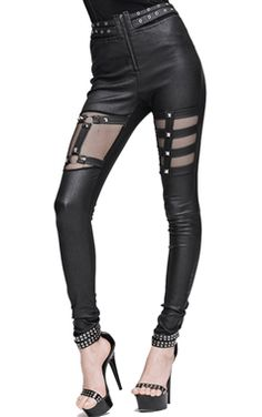 Devil Fashion Gothic Raven Trousers