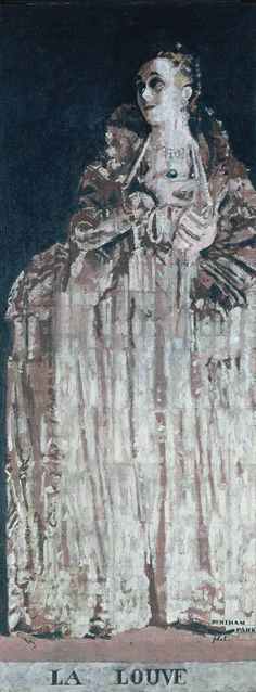 Walter Richard Sickert, 'Miss Gwen Ffrangcon-Davies as Isabella of France' 1932 (The Camden Town Group in Context) Walter Sickert, Queen Isabella, Tate Gallery, Tate Britain, Camden Town, She Wolf, My Tumblr, Printmaking, Oil On Canvas