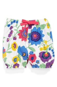 Tucker + Tate Print Cotton Bubble Shorts (Baby Girls) available at #Nordstrom