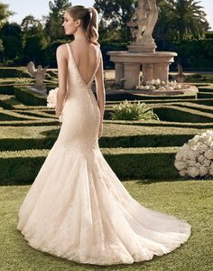 Casablanca Bridal available at CC's Bridal Boutique in St. Petersburg http://www.tampabridalshops.com/bridal.html