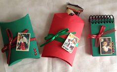 Caixinha travesseiro/ Natal - pillow box