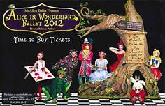 Alice in Wonderland Ballet 2012