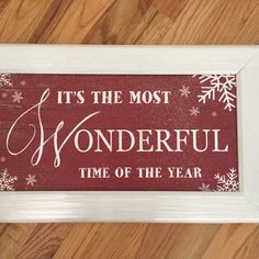 It's The Most Wonderful Time Of The Year from Sweetwraps Western Gifts for $30.00