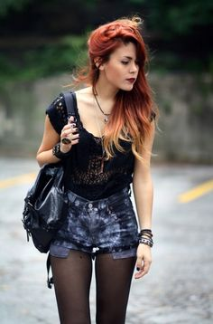 grunge fashion, style, design, clothing, picture
