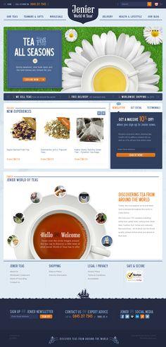 Jenier Teas | Website Design