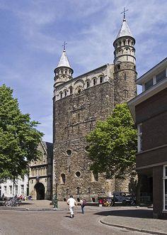 Basilica of Our Lady (westwerk) Maastricht, Netherlands