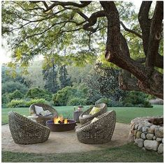 Fire Pit Area....I would never leave!