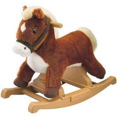 "Tek Nek ""Rock N' Ride"" Brown Pony--$40.00 on Amazon--Jamie 1st birthday"