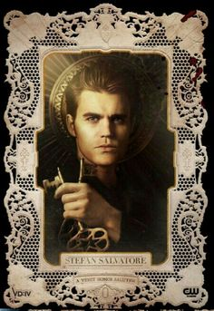 Stefan Salvatore/Paul Wesley. The Vamire Diaries