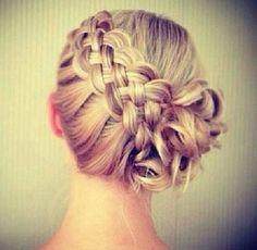 Blond braids