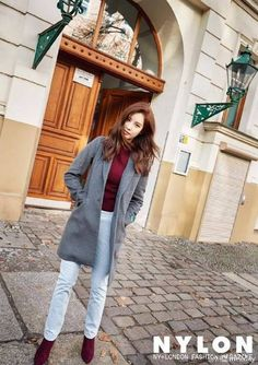 Girls' Generation's Seohyun brings the winter-feel from Berlin | allkpop.com