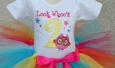 baby girl 1st birthday outfits | mc 33 springtime owl 1st birthday girls tutu outfit your little girl ...