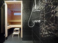 Märkätilojen lattiat ovat helppohoitoista polyuretaania. Master Topi. Fondue, Decoration, Bathtub, Bathroom, Design, Bath, White People, Water, Bedroom