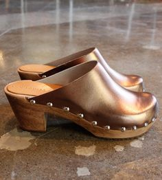 Image of Bronze Clogs