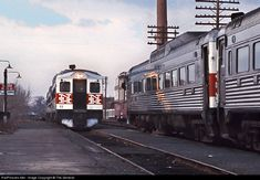 RailPictures.Net Photo: NH 32 New York, New Haven & Hartford Railroad Budd RDC-1 at Norwood, Massachusetts by The General
