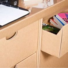 Cardboard 'SmartDeco Furniture' is Eco-Friend #ecofriendly #homedecor trendhunter.com