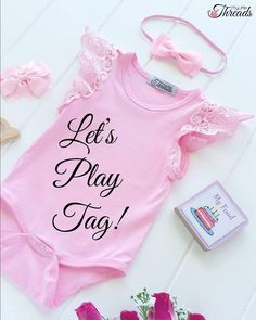 LET'S PLAY TAG  Tag friend and comment! Prize: Win a beautiful pink suit with Pixie Wings (size 000-2). Winner is the account right above the STOP line. DISCLAIMER: this competition is in no way sponsored endorsed or administed by or associated with Instagram or its affiliates.
