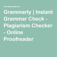 Correcting grammar online