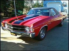 1971 Chevrolet El Camino.  Find parts for this classic beauty at restorationpartssource.com.