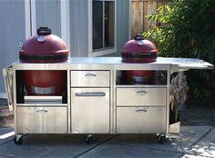 Grill Table for Classic Joe Bbq Grill, Barbecue, Grilling, Grill Table, A Table, Stainless Table, Ceramic Cooker, Big Green Egg Table, Kamado Joe