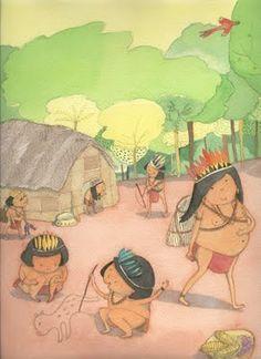Coisas minhas: Ilustradores brasileiros de livros infantis - ilustração de Elisabeth Teixeira