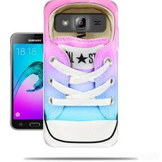 Case All Star Basket shoes rainbow for Samsung Galaxy J3