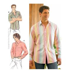 Crafty's: The Classic Tailored Shirt (Men Pattern)
