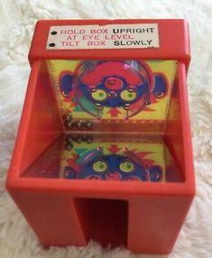Vintage 1968 Kohner Bros Nervous Breakdown Mini Mirror Maze Game Clown Red | eBay Mirror Maze, Maze Game, Nervous Breakdown, Vintage Board Games, School Boy, Bobble Head, Pinball, Arcade Games, My Ebay
